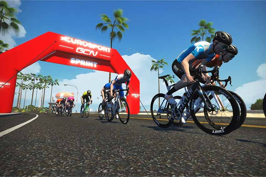 Tour for All – uma competição de ciclismo virtual